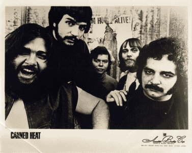 1967 Canned Heat Press Photo