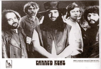 Canned Heat '68 Promo Photo